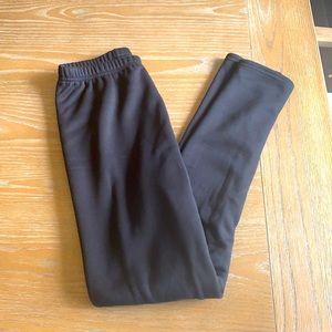 Cozy fleece lined leggings